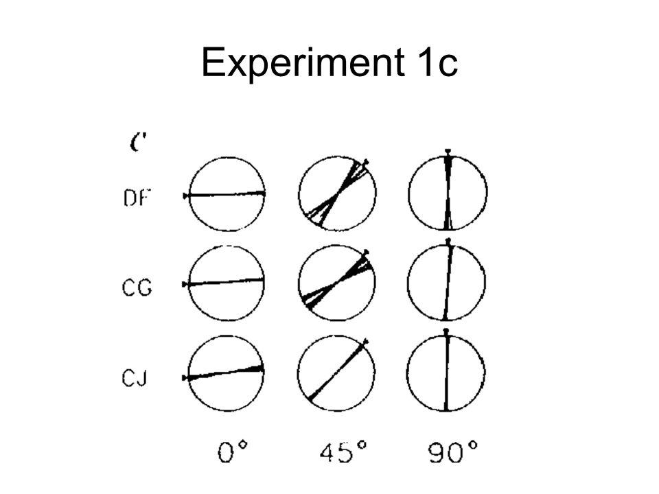 Experiment 1c