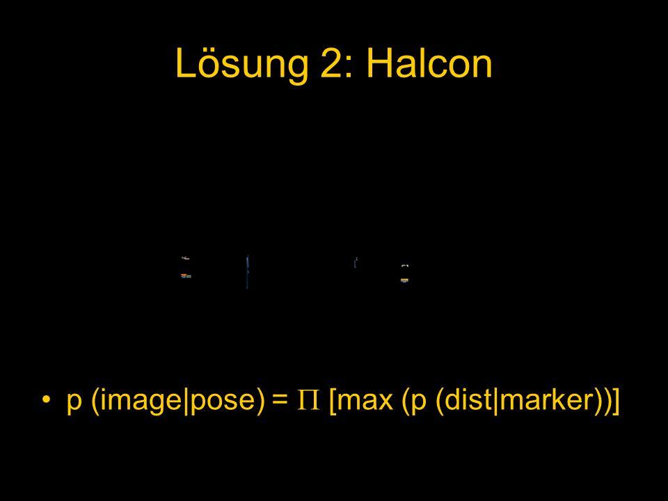 p (image|pose) = [max (p (dist|marker))]