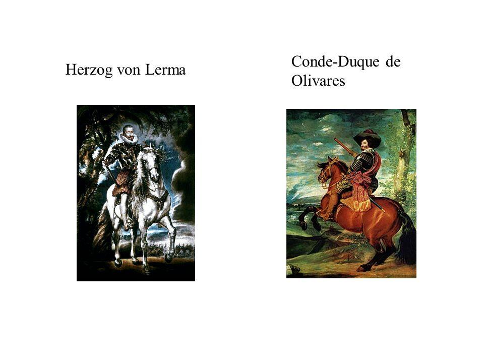 Herzog von Lerma Conde-Duque de Olivares