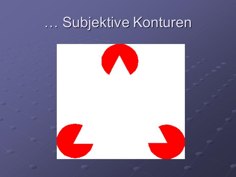 … Subjektive Konturen