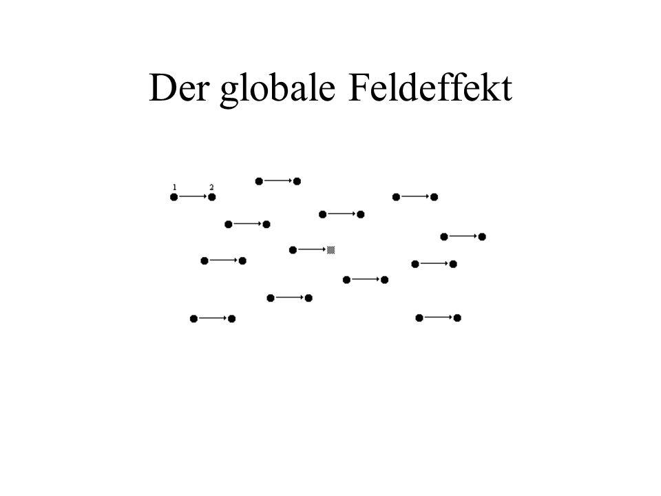 Der globale Feldeffekt