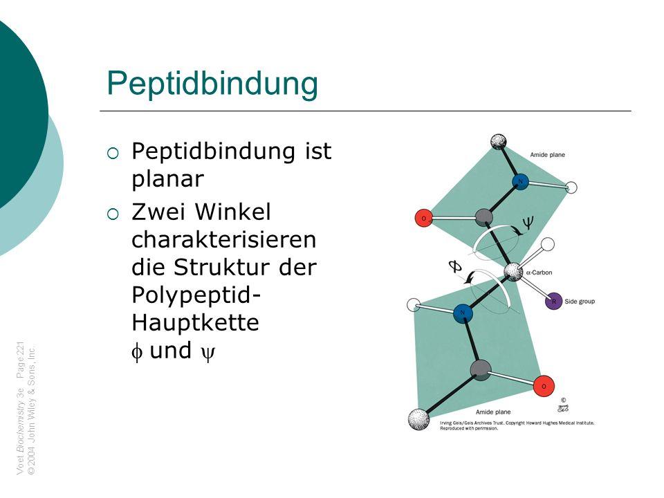 Disulfidbrücken und Dauerwellen
