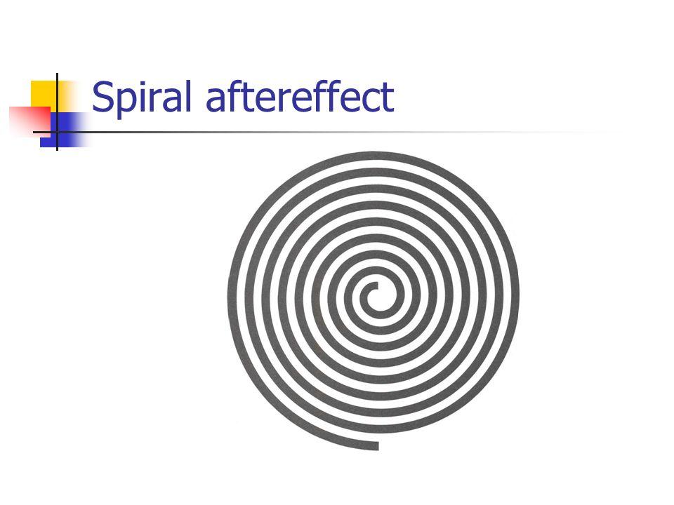 Spiral aftereffect