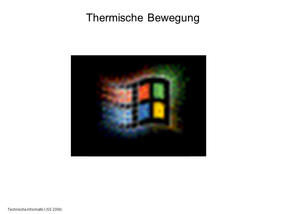 Technische Informatik I (SS 2006) Thermische Bewegung