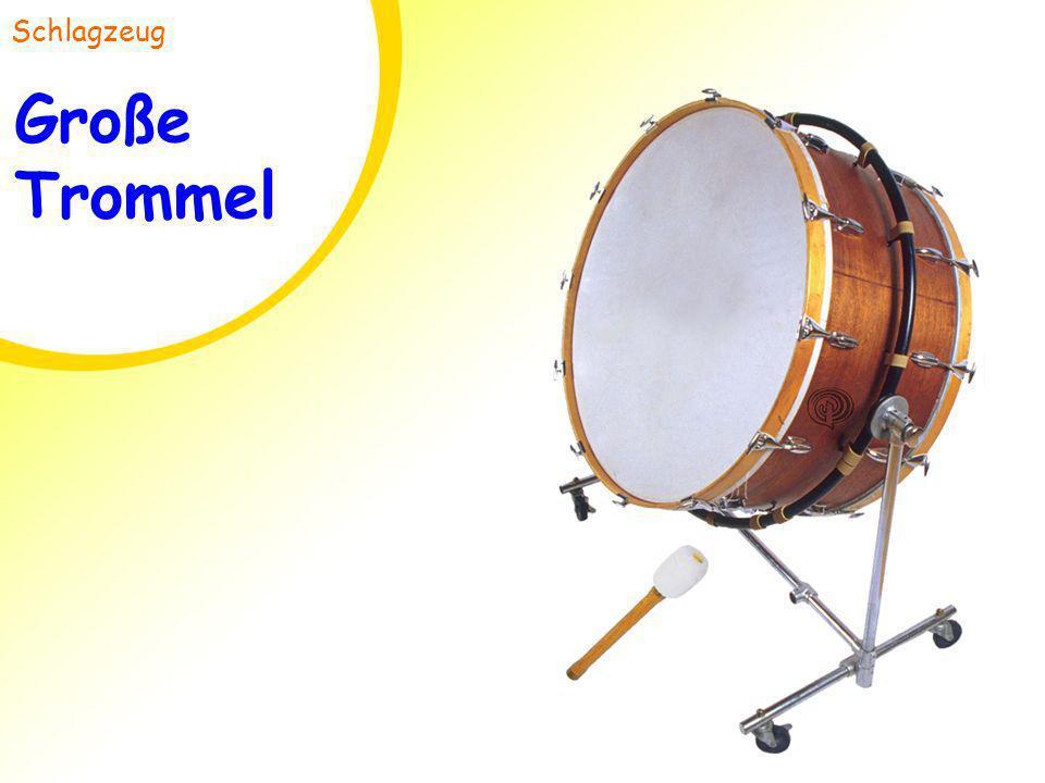 Große Trommel Schlagzeug