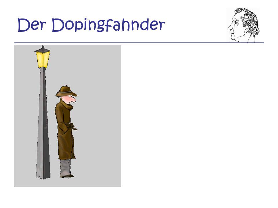 Der Dopingfahnder