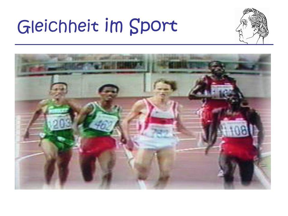 Gleichheit im Sport