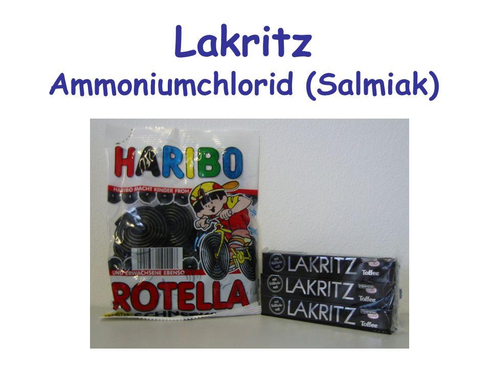 Lakritz Ammoniumchlorid (Salmiak)