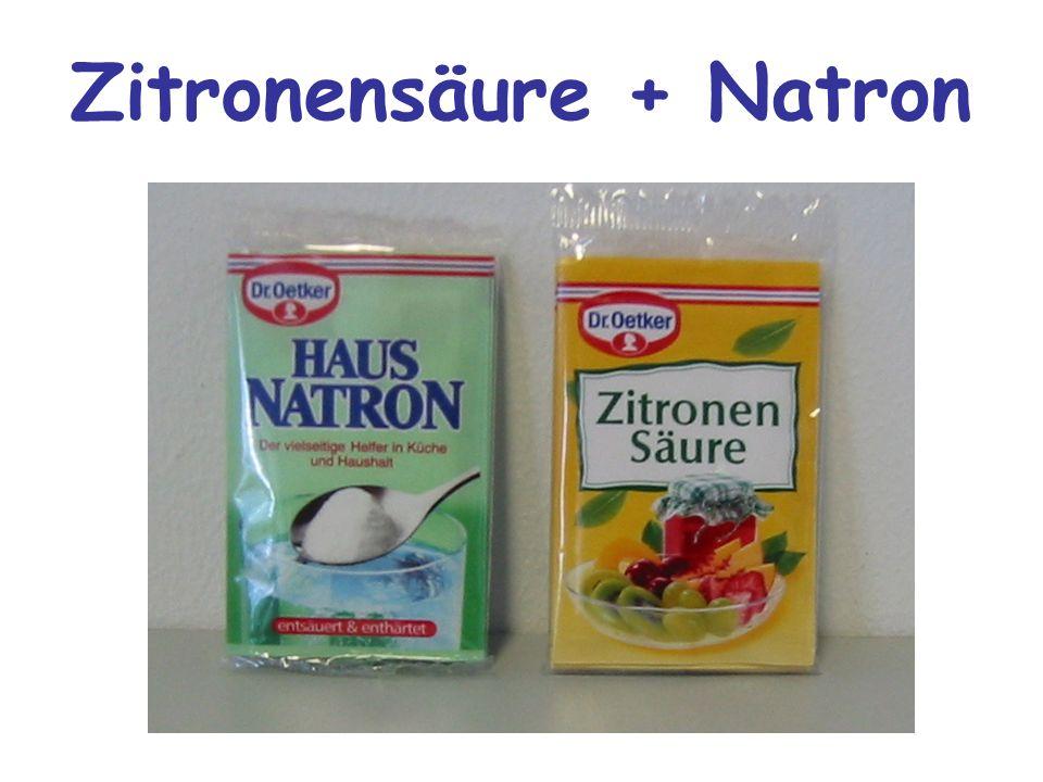 Zitronensäure + Natron