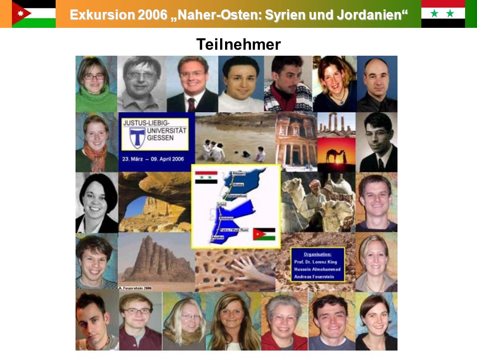 Exkursion 2006 Naher-Osten: Syrien und Jordanien 30.03.2006 Aqaba – Industrie und Erholung