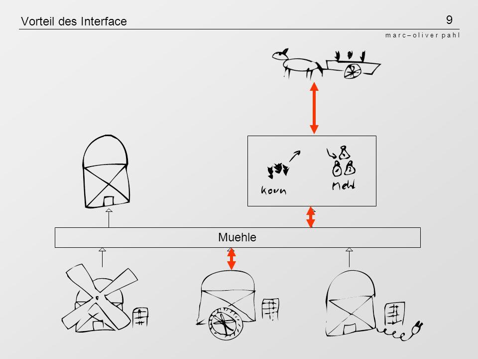 10 m a r c – o l i v e r p a h l Vorteil der Instanzen/ Objekte