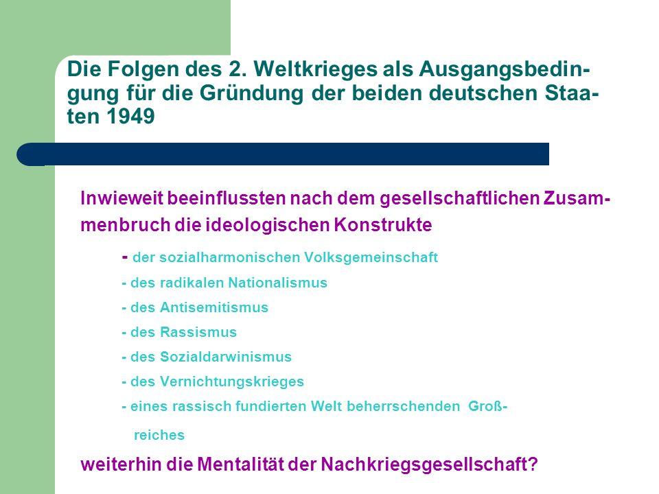 Das politische und wirtschaftliche System der DDR und der BRD Unterschiede, Ähnlichkeiten, Gemeinsamkeiten: - Realer Sozialismus/ Demokratischer Zentralismus vs.