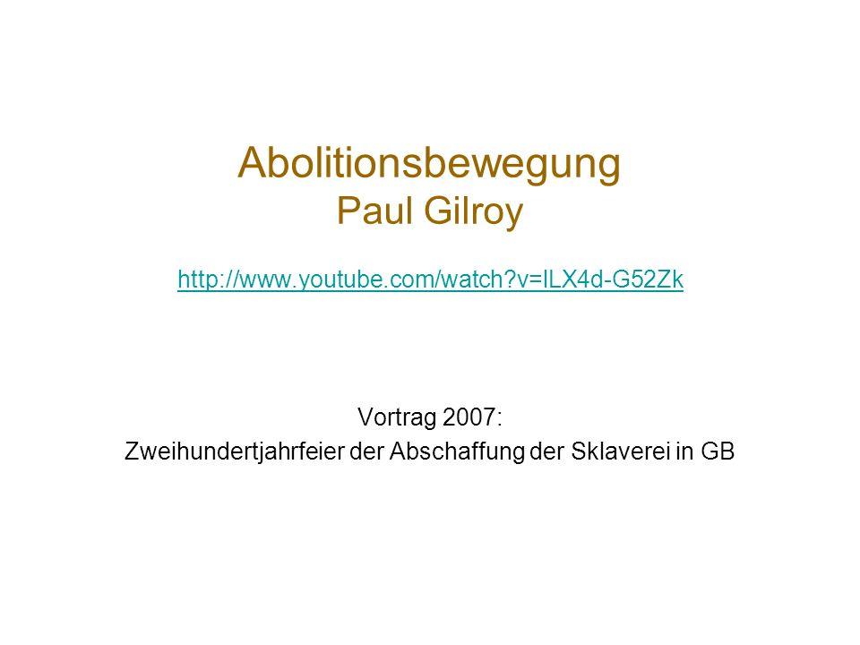 Abolitionsbewegung radikale soziale Bewegung? Radikalster Flügel: Garrisonians & American Anti-Slavery Society (1833); moderate: Abspaltung American &