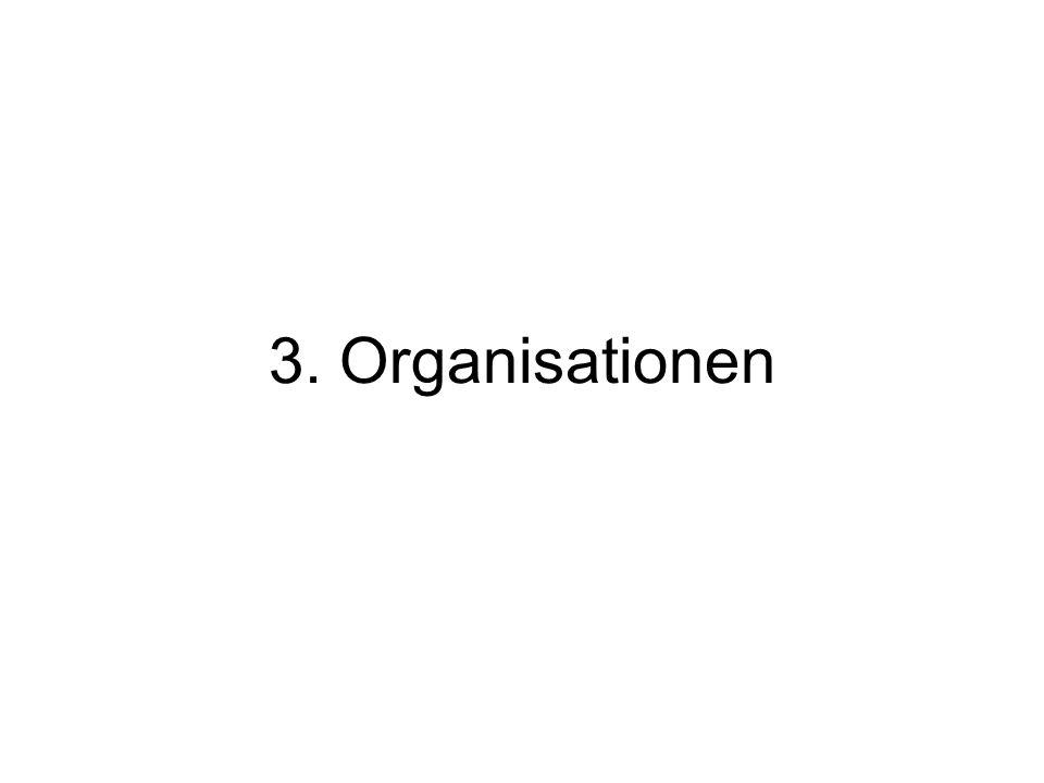 3. Organisationen