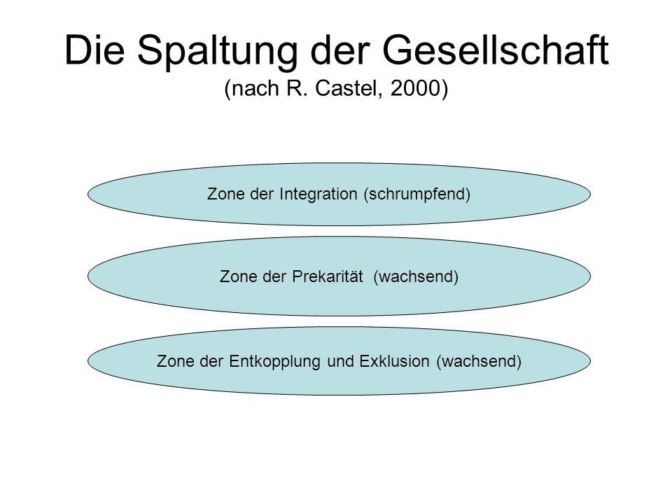 Die Spaltung der Gesellschaft (nach R.