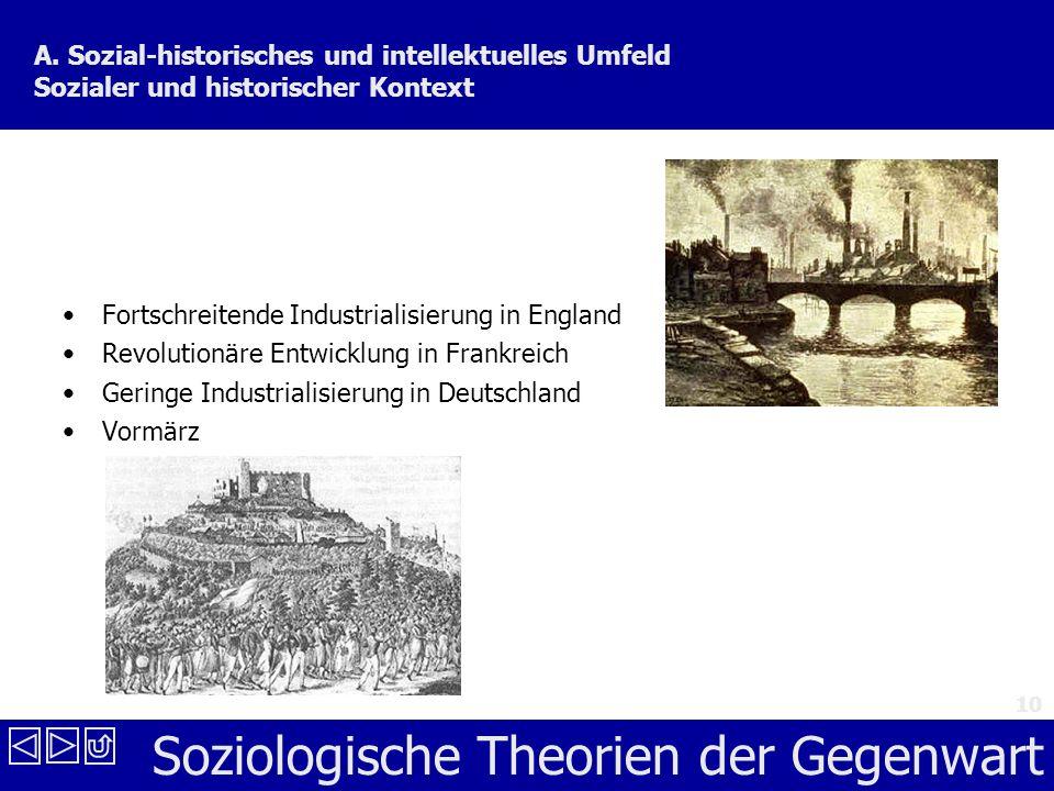 Soziologische Theorien der Gegenwart 10 A.