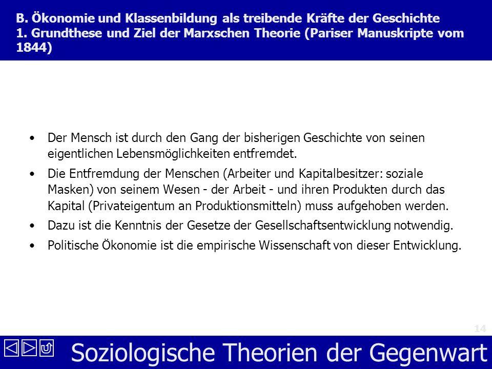 Soziologische Theorien der Gegenwart 14 B.