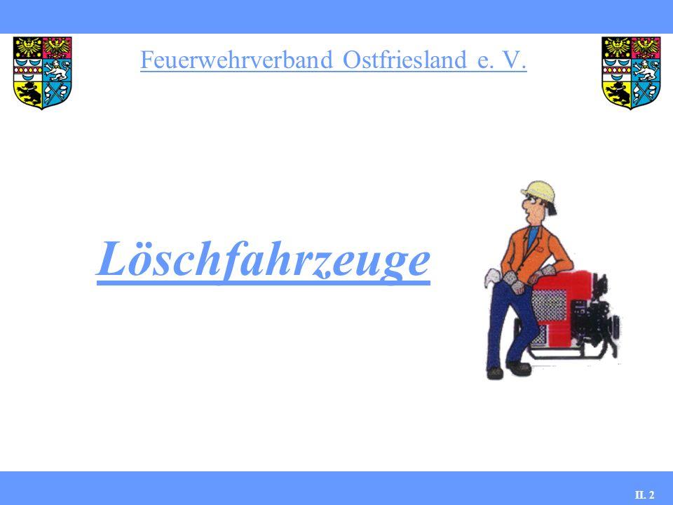 Tanklöschfahrzeuge Feuerwehrverband Ostfriesland e.