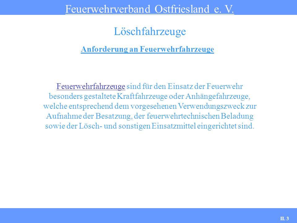 Löschgruppenfahrzeuge Feuerwehrverband Ostfriesland e.