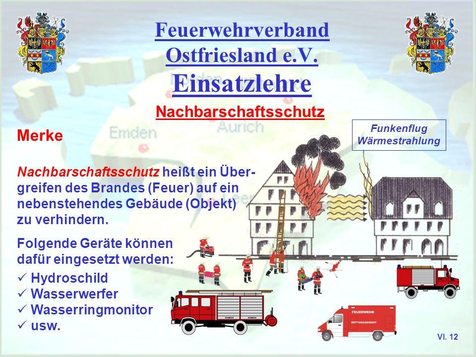 Feuerwehrverband Ostfriesland e.V. Aurich, Emden, Leer, Wittmund VI. 11