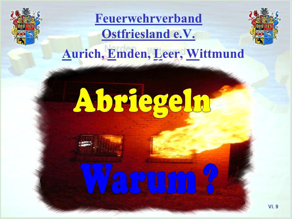 Feuerwehrverband Ostfriesland e.V. Einsatzlehre Merke der Außenangriff ist fast immer eine Improvisation und nur dann anzuwenden, wenn ein Innenangrif