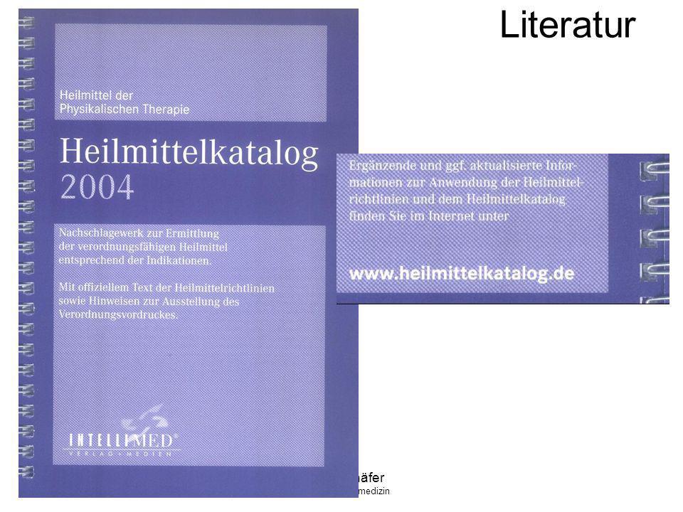 Klaus Schäfer FA f. Allgemeinmedizin Literatur