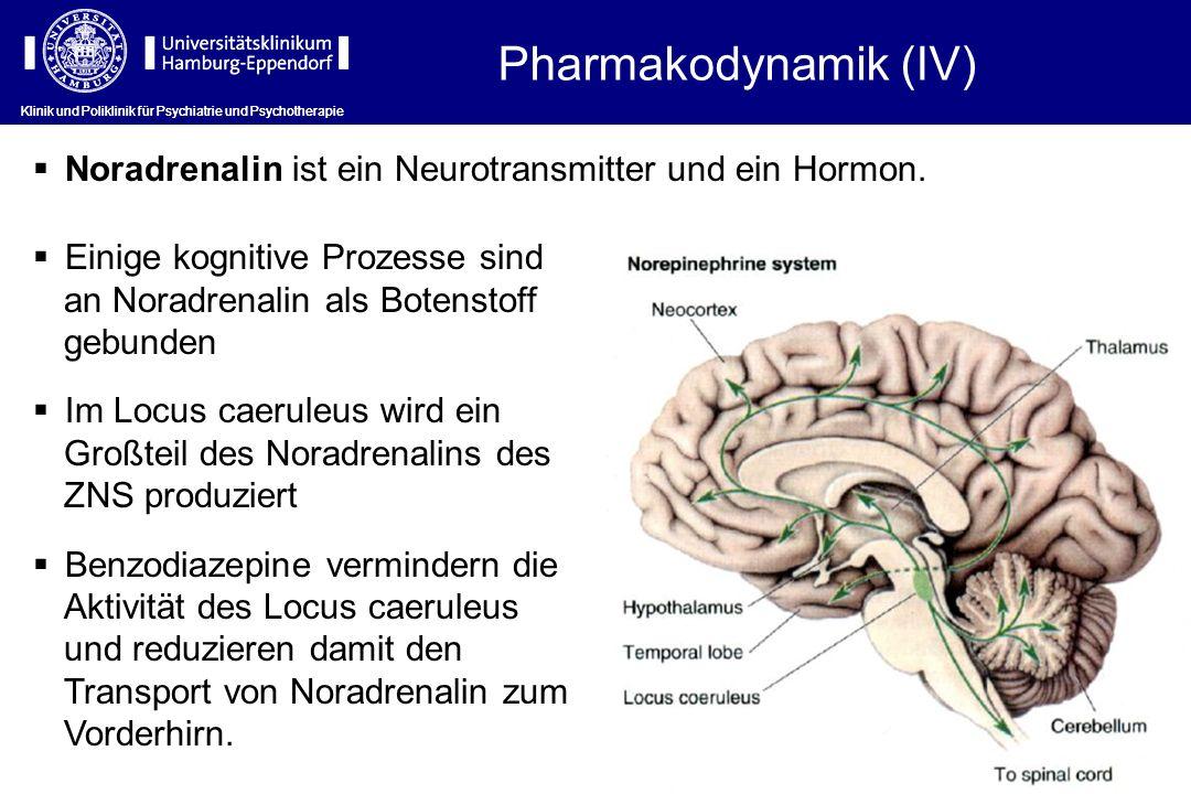 Klinik und Poliklinik für Psychiatrie und Psychotherapie Noradrenalin ist ein Neurotransmitter und ein Hormon. Einige kognitive Prozesse sind an Norad