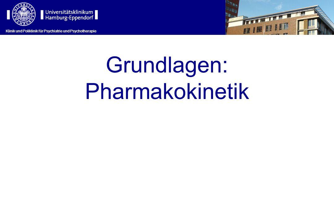 Klinik und Poliklinik für Psychiatrie und Psychotherapie Wirkmechanismus (I) Klinik und Poliklinik für Psychiatrie und Psychotherapie