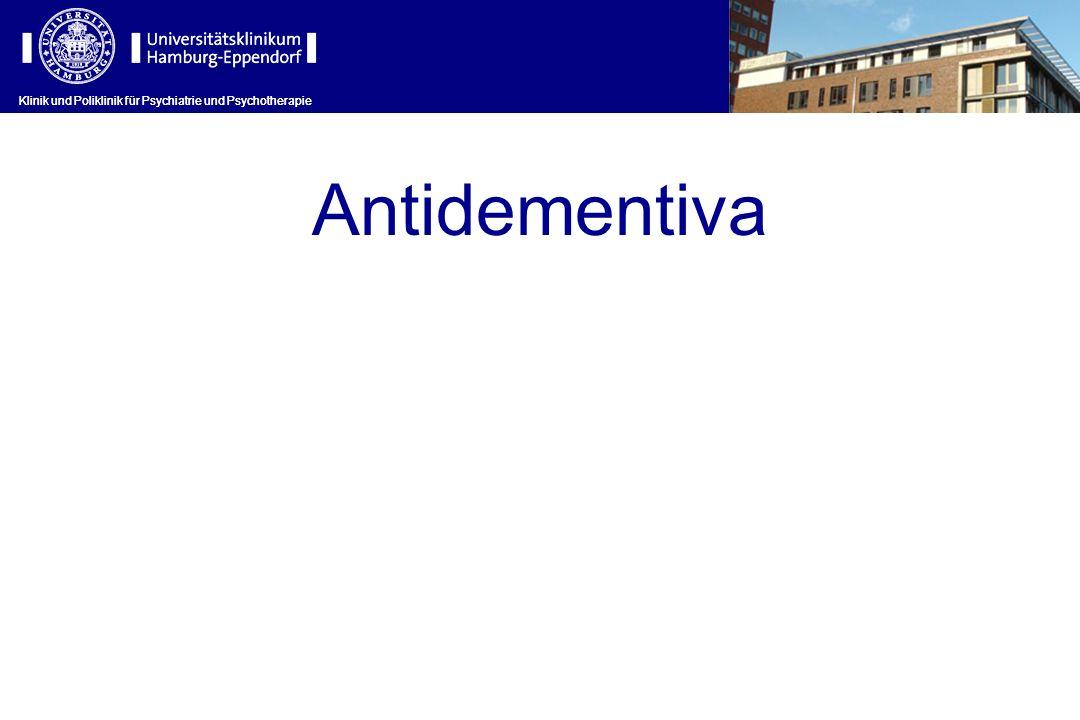 Antidementiva Klinik und Poliklinik für Psychiatrie und Psychotherapie