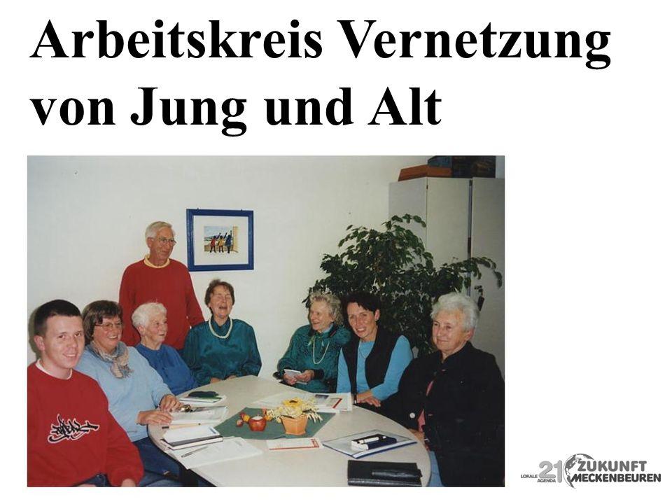 Arbeitskreis Vernetzung von Jung und Alt