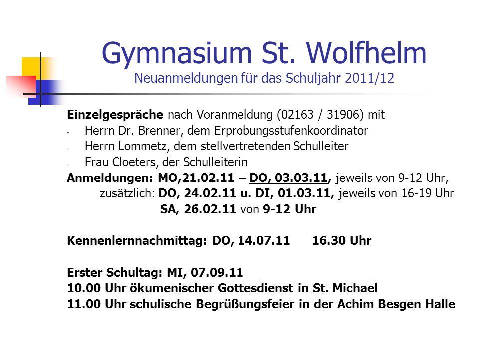 Gymnasium St.