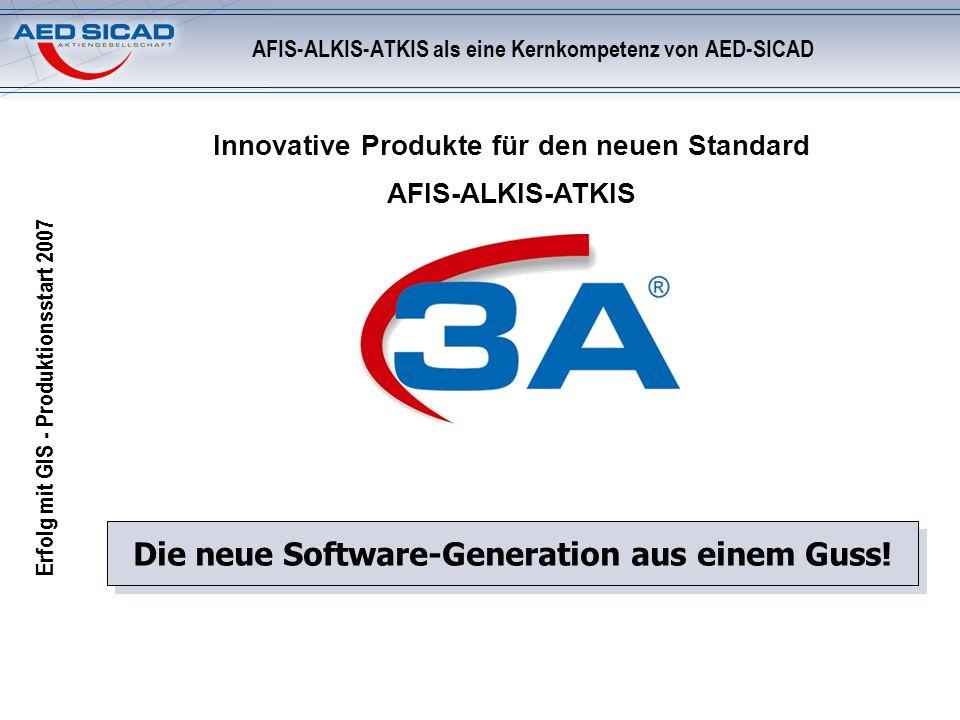 Erfolg mit GIS - Produktionsstart 2007 Langjährige Expertise bei der Realisierung von AFIS-ALKIS-ATKIS Langjähriges Mitglied im AdV Koordinierungsgrem
