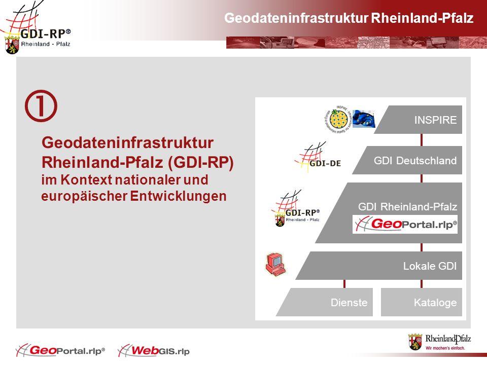Geodateninfrastruktur Rheinland-Pfalz Geodateninfrastruktur Rheinland-Pfalz (GDI-RP) im Kontext nationaler und europäischer Entwicklungen Europa#INSPI