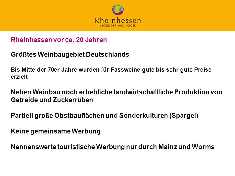 10 © 2006 PROJECT M / GfL Größtes Weinbaugebiet Deutschlands Bis Mitte der 70er Jahre wurden für Fassweine gute bis sehr gute Preise erzielt Neben Wei
