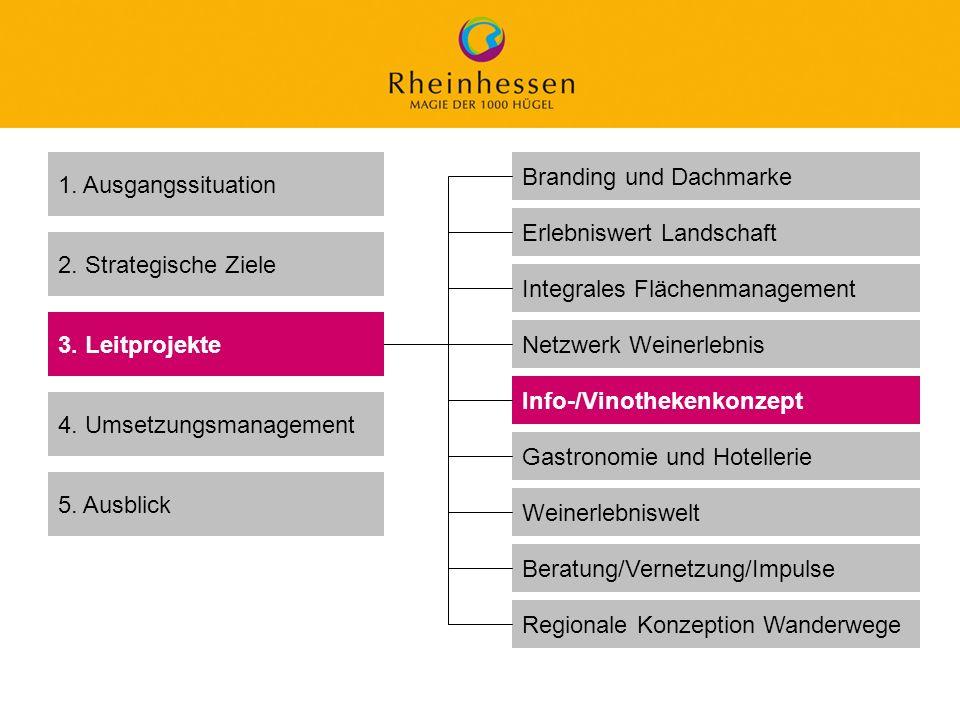 30 © 2006 PROJECT M / GfL 1. Ausgangssituation 2. Strategische Ziele 3. Leitprojekte 4. Umsetzungsmanagement 5. Ausblick Branding und Dachmarke Netzwe