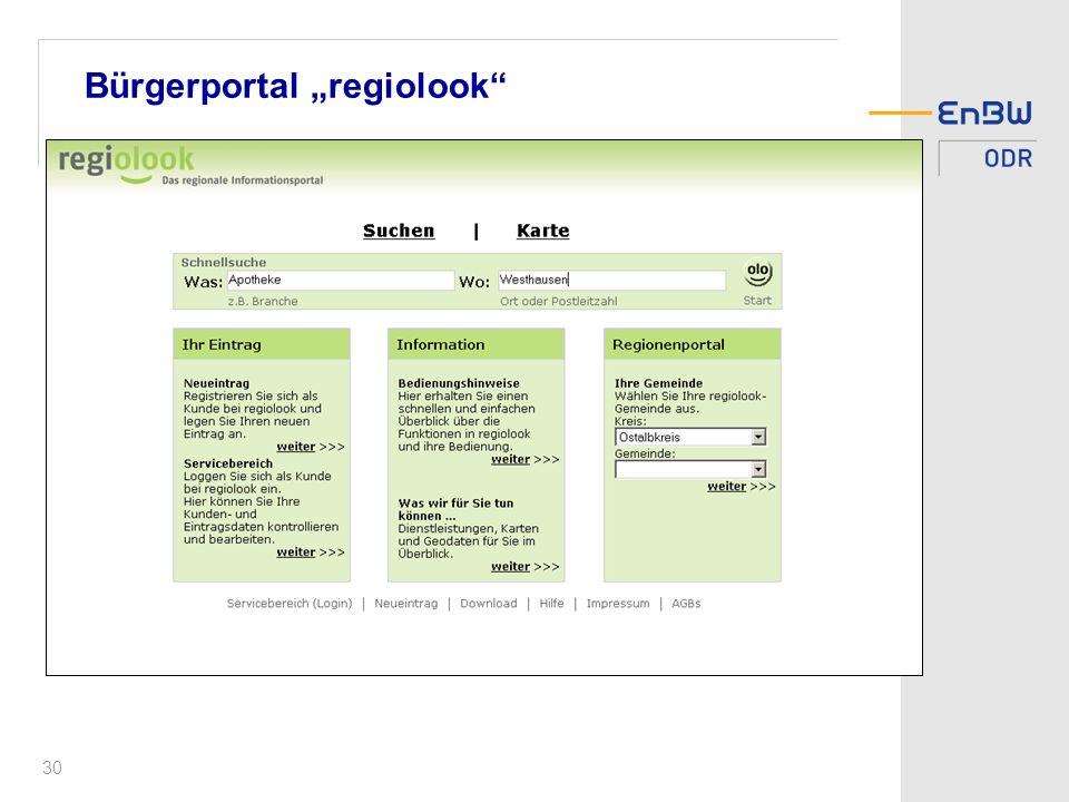 30 Bürgerportal regiolook