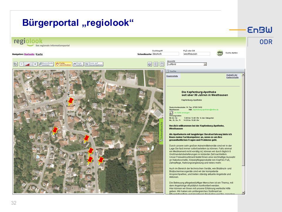 32 Bürgerportal regiolook