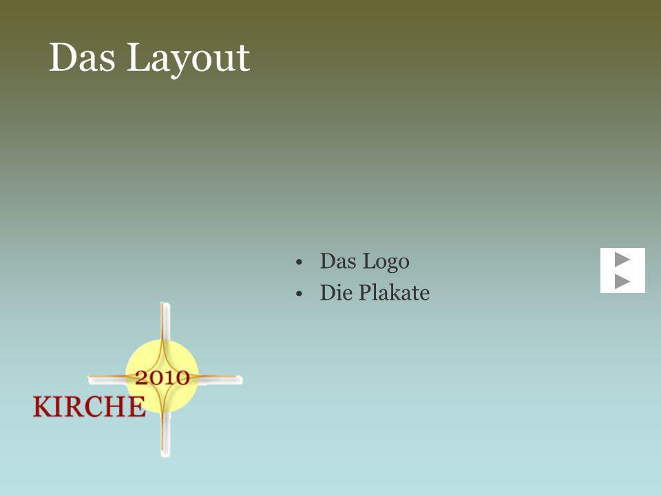 Das Logo Das Logo setzt sich zusammen aus einem Stern, einem Kreis und dem Schriftzug Kirche 2010 Der Stern zeigt in vier Richtungen: es steht für Norden, Süden, Osten und Westen (die Kirche ist überall) Der Kreis verbindet alle vier Himmelsrichtungen miteinander