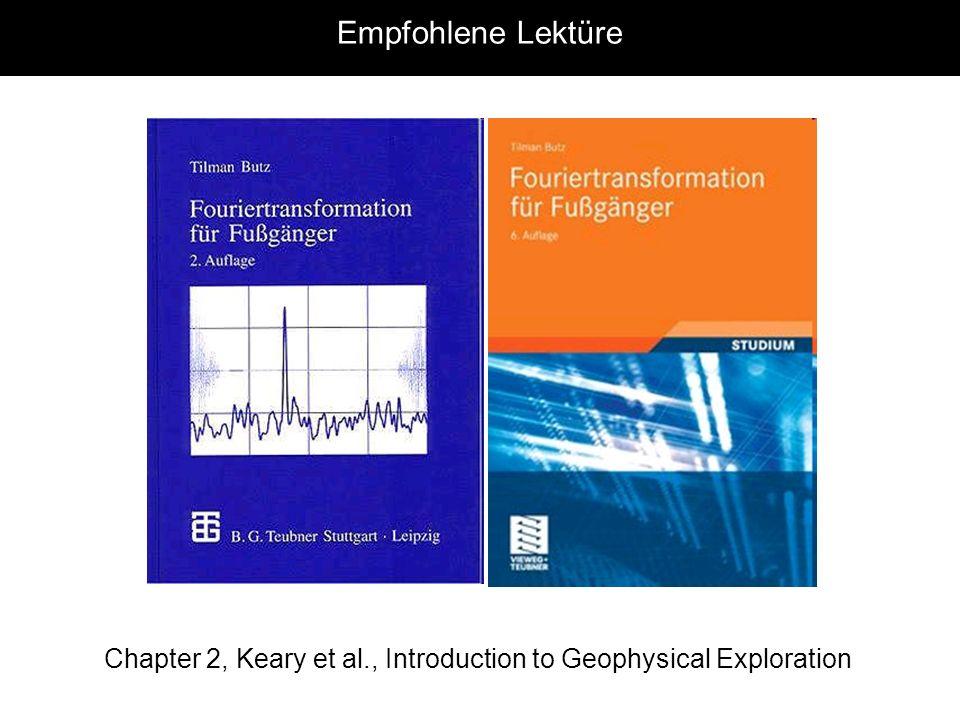 Fourier: Raum und Zeit Raum x räumliche Variable L räumliche Wellenlänge k=2 / Räumliche Wellenzahl F(k) Wellenzahl Spektrum Raum x räumliche Variable L räumliche Wellenlänge k=2 / Räumliche Wellenzahl F(k) Wellenzahl Spektrum Zeit tzeitliche Variable TPeriode fFrequenz =2 fKreisfrequenz Zeit tzeitliche Variable TPeriode fFrequenz =2 fKreisfrequenz Fourierintegrale Mit der komplexen Darstellung der Sinusfunktionen e ikx (oder e iwt ) wird die Fouriertransformation einer Funktion f(x) wie folgt geschrieben (VORSICHT: es gibt verschiedene Definitionen!)