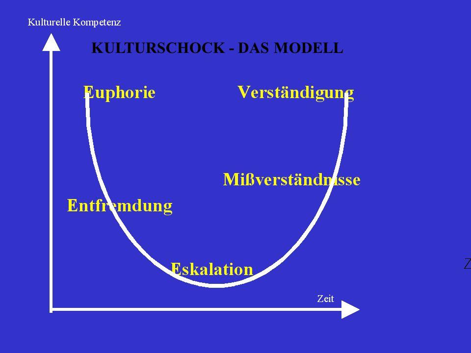 KULTURSCHOCK - DAS MODELL