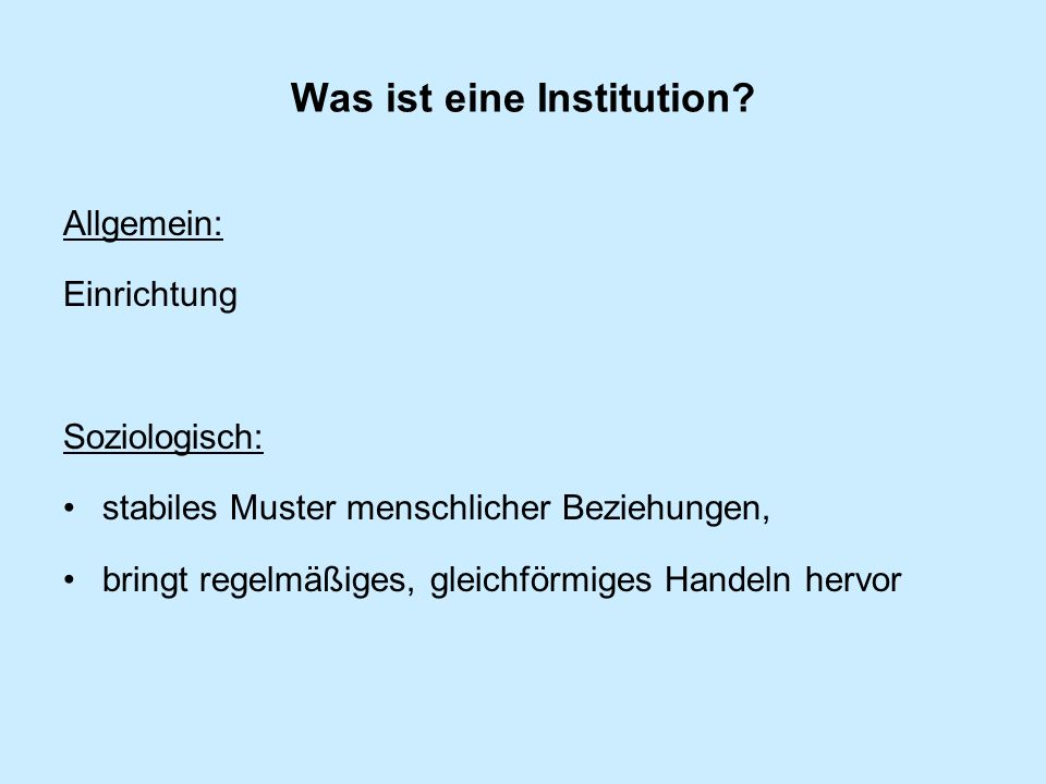 Der Neo-Institutionalismus nach James G.March und Johan P.