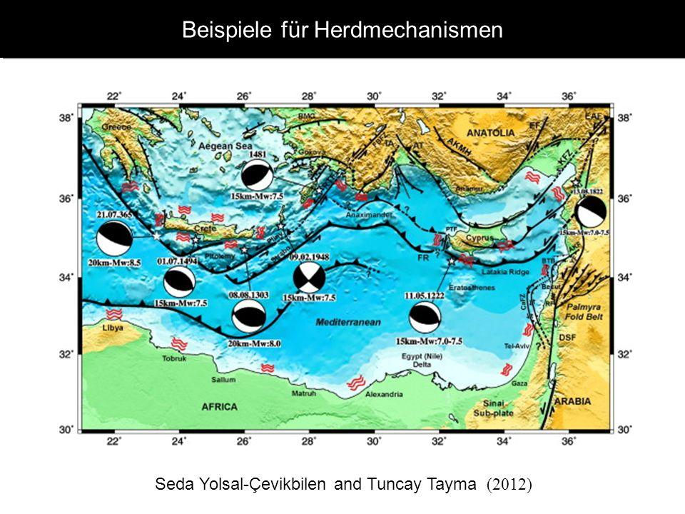 www.geophysik.uni-muenchen.de -> Studium -> VorlesungenSeismology - Slide 25 Beachballs - global