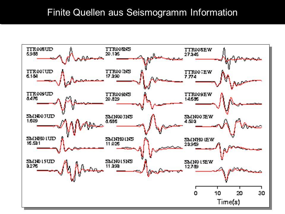 www.geophysik.uni-muenchen.de -> Studium -> VorlesungenSeismology - Slide 39 Statische Deformation – GPS Messungen