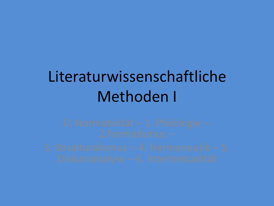 Šklovskij Jakobson Saussure Lotman Mukařovský Wie ordnen wir diese Ansätze den Ansätzen zu.