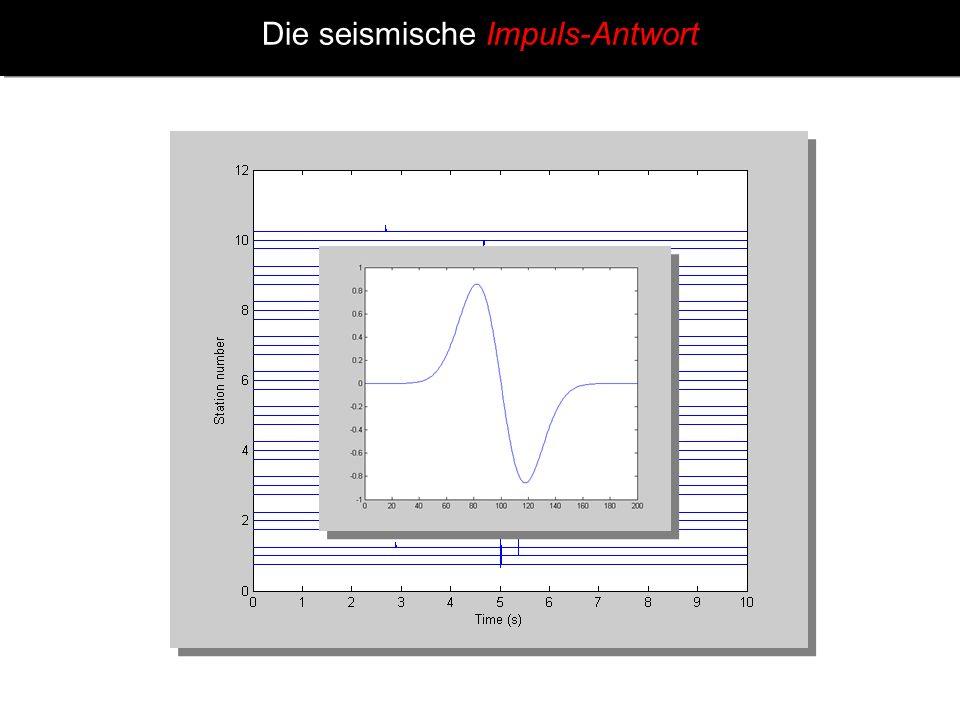 Digitales Filtern – Originales Seismogramm