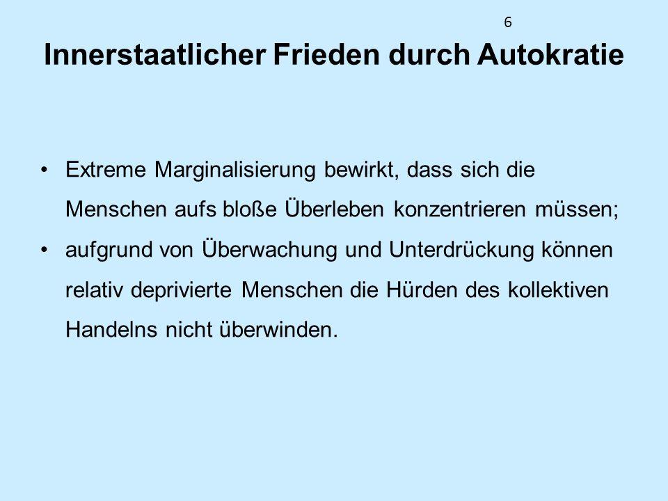 37 Aufgaben zur Nachbereitung 1.Lesen Sie den aktuellen HSFK-Standpunkt von Harald Müller unter www.hsfk.de/fileadmin/downloads/Standpunkte_2_2010 _hp.pdf.