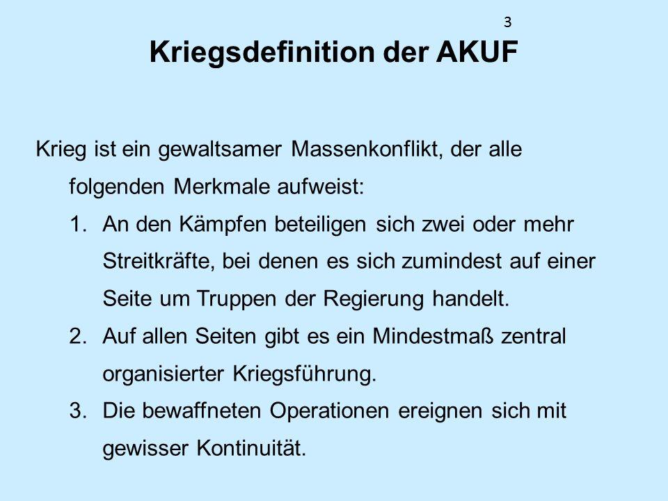 24 Negativer Frieden nach Johan Galtung Kritik: Frieden bezieht sich nicht unbedingt auf eine Beziehung zwischen Kollektiven.