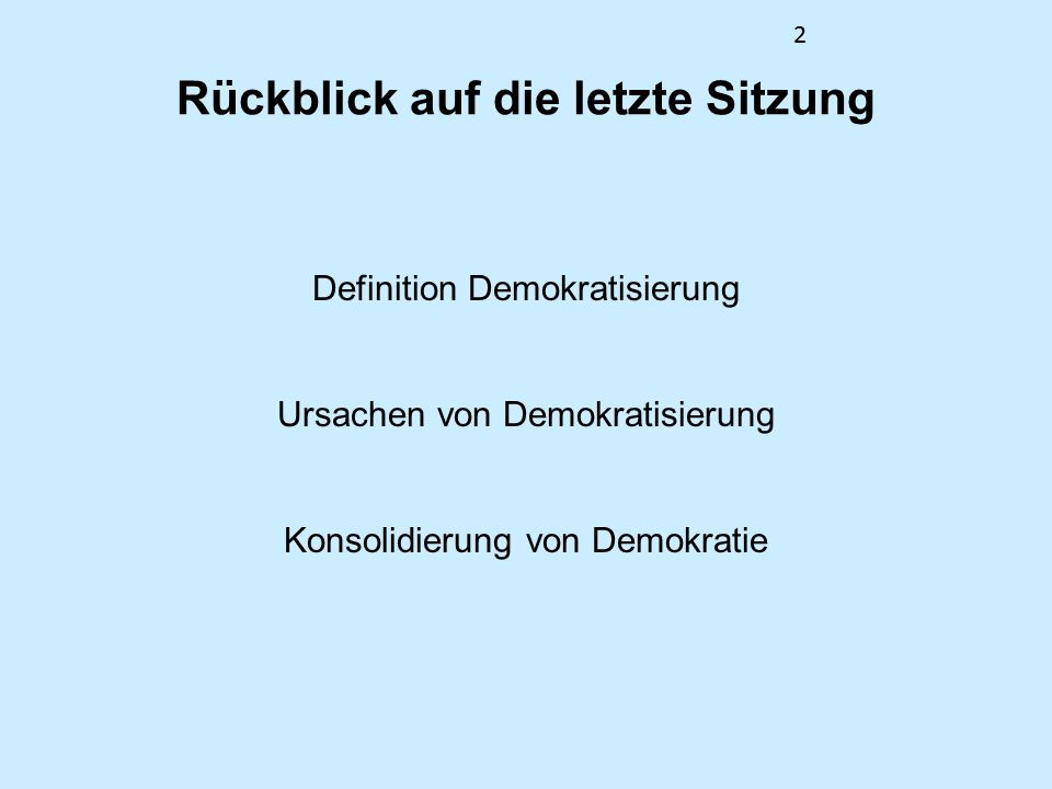 13 Auf dem Weg zum Konzept der defekten Demokratie Fünf Teilregime 4.