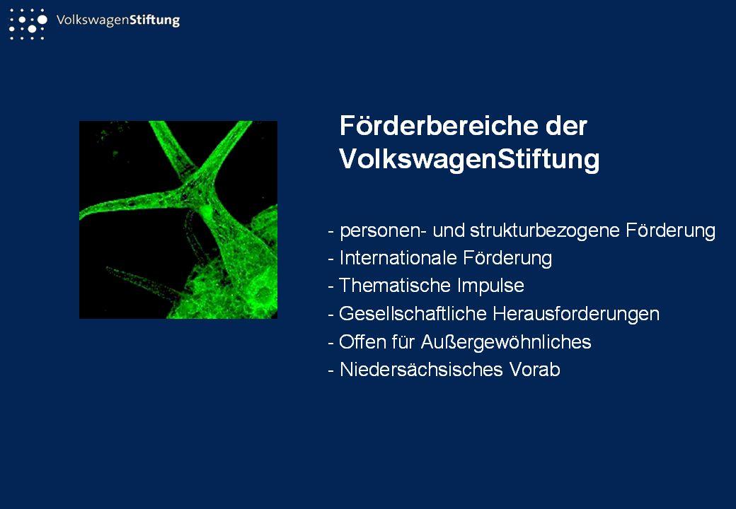 Pro Geisteswissenschaften[ 1 ] Gemeinsame Initiative der VolkswagenStiftung und der Fritz Thyssen Stiftung...