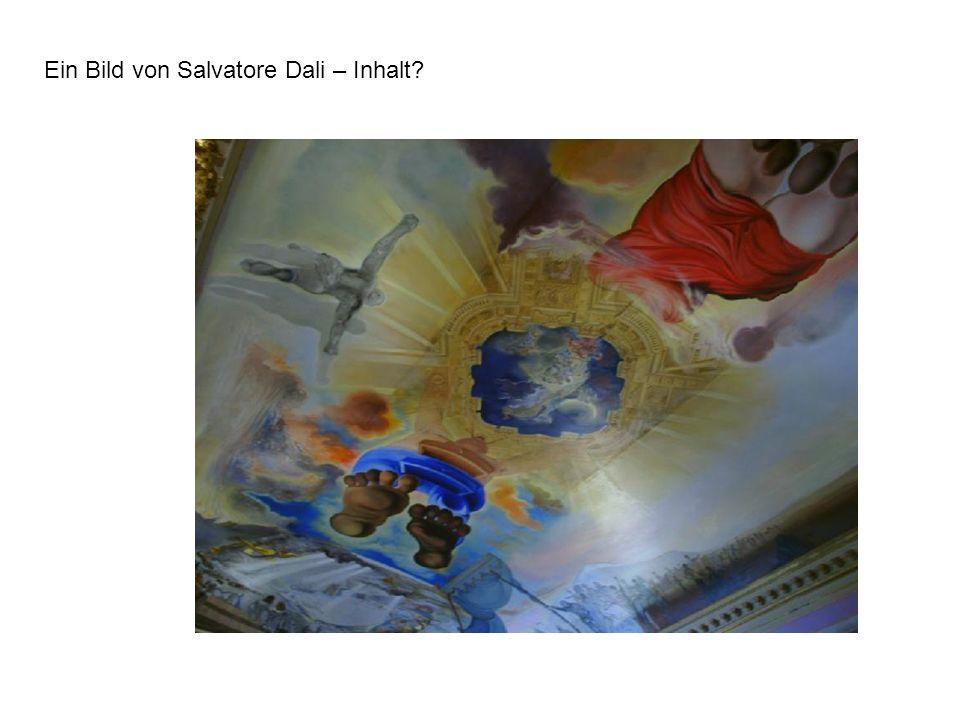Ein Bild von Salvatore Dali – Inhalt?